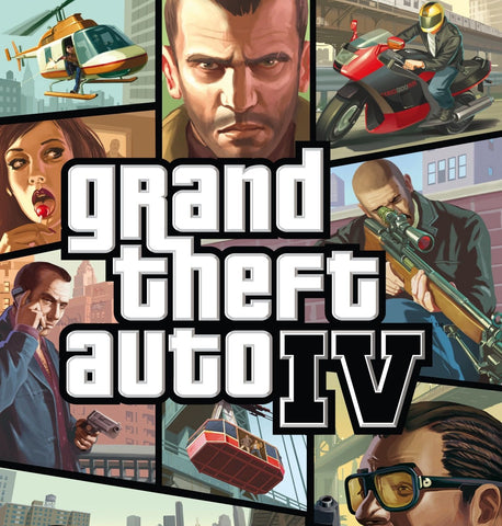 Cover art for GTA IV, released in 2008