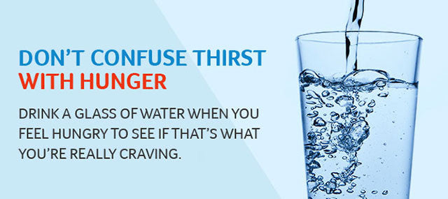 Thirsty or Hungry - Are you giving your body what it's asking for?