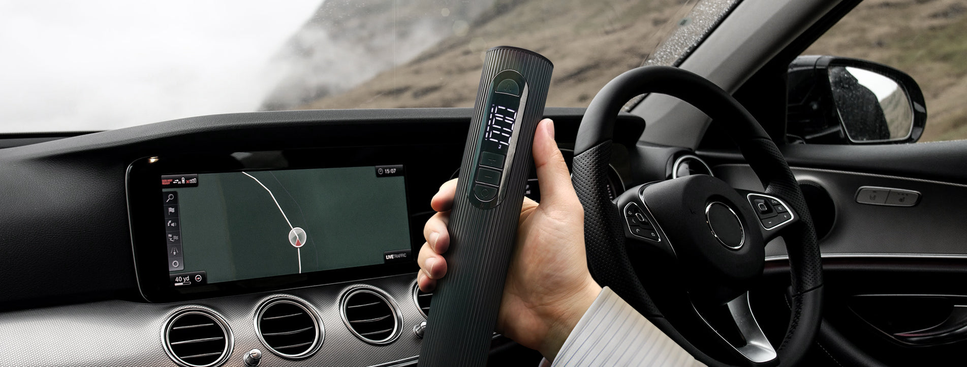 TESGO Mini Tire Inflator World's smallest and most portable tire inflator