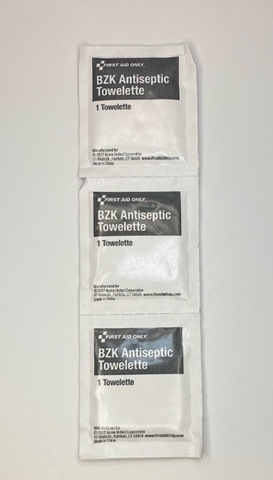 Antiseptic Wipes for First Aid