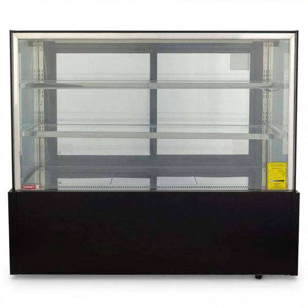 VITRINA REFRIGERADA FULL GLASS 120CM RECTA VFG-120R