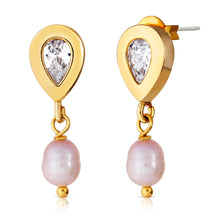 Load image into Gallery viewer, Pearl Drop Stud Earring