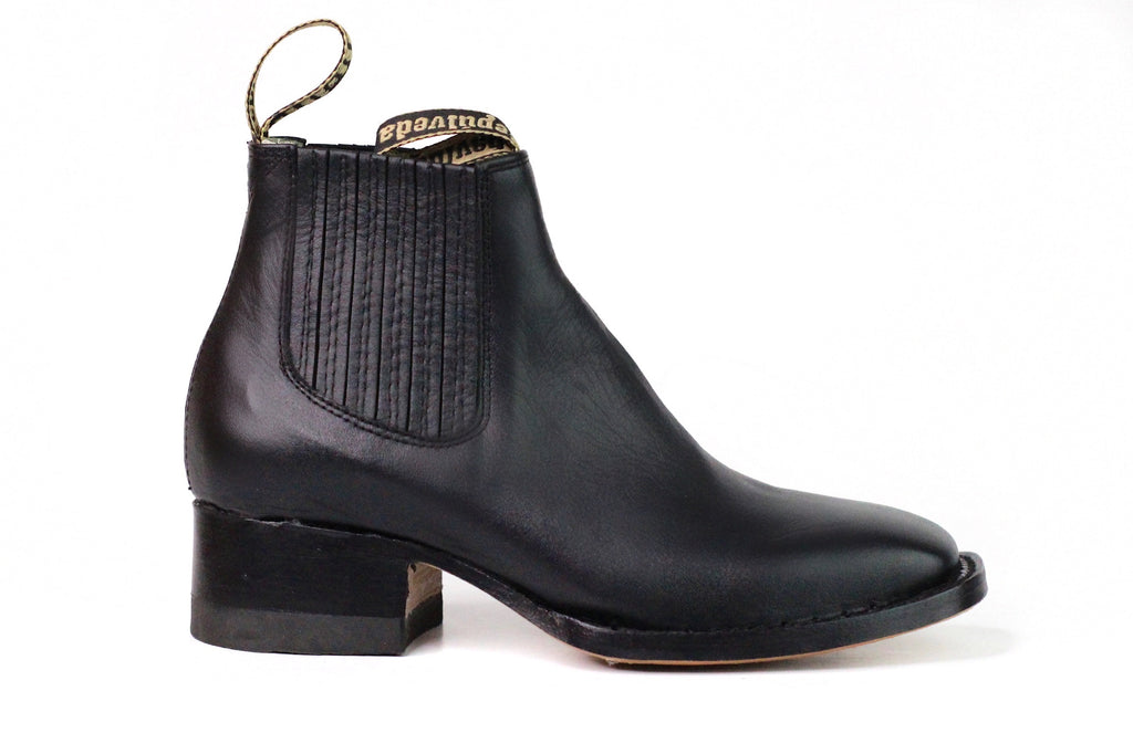Sepulveda Rodeo Nappa Teen Ankle Boot
