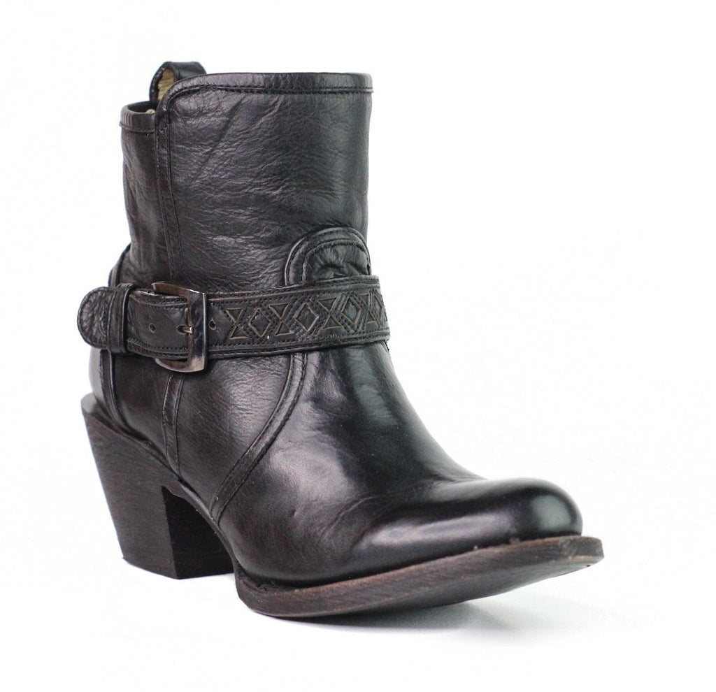 Greta Buckle Strap Boot