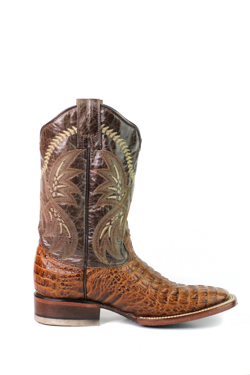 CT Crocodile Leather Print Men's Boot