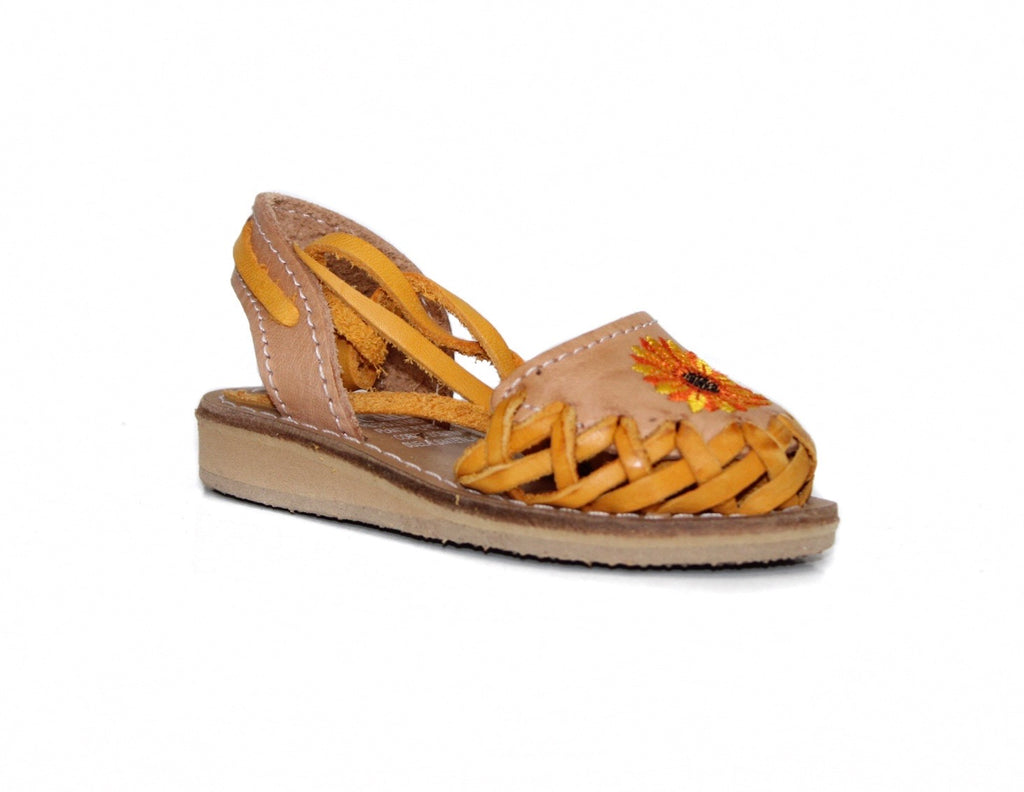 Mexican Leather Sandal K Girasol