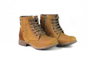 VT Papaya Lace-Up Boot