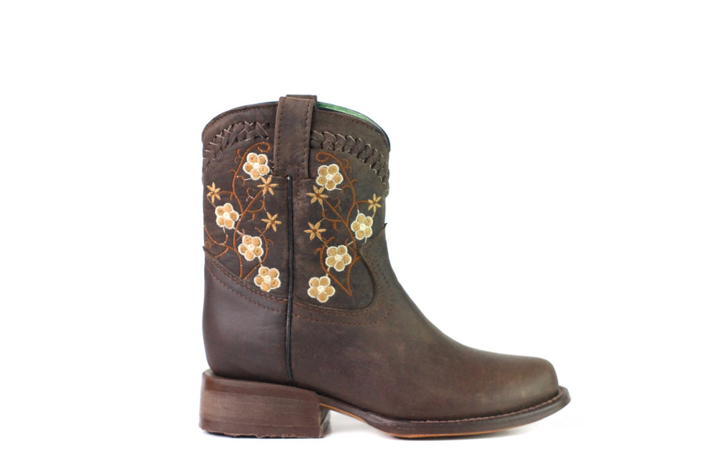 Old Corral Floral Boot