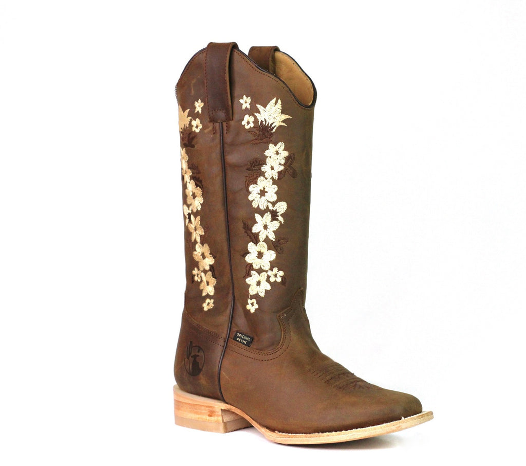 Flowers Boots ReyMe 063FL1