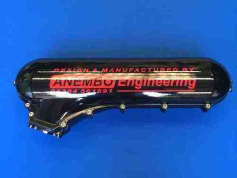 ANEMBO - FOCUS XR5 / RS MK2 CAST INLET PLENUM - GLOSS BLACK - Automotive Therapy