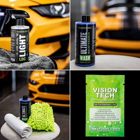 ALWAYS DRY ULTIMATE CAR CARE BUNDLE - Automotive Therapy