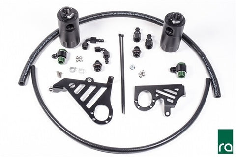 RADIUM DUAL CATCH CAN KIT - FORD FOCUS RS LZ 16-17 - Automotive Therapy