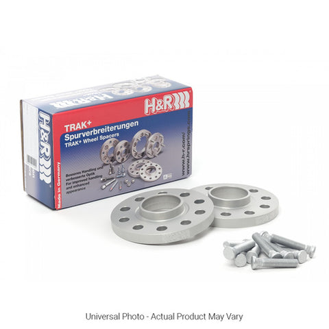 H&R TRAK+ DRM WHEEL SPACERS PAIR 25MM SILVER - FORD FOCUS MK2 INC XR5/RS MK3 INC ST/RS - Automotive Therapy