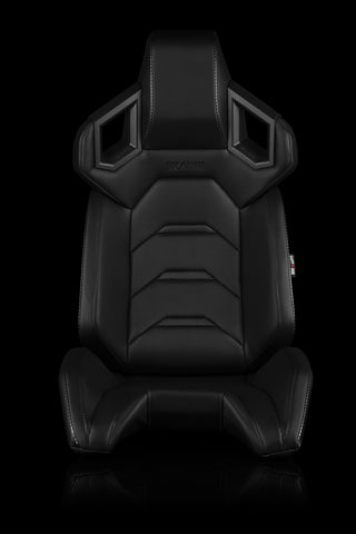 BRAUM RACING ALPHA-X SERIES RACING SEATS (BLACK) – PAIR - Automotive Therapy
