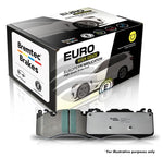 FORD FOCUS XR5 BREMTEC EUROLINE HD BRAKE PADS - FRONT - Automotive Therapy