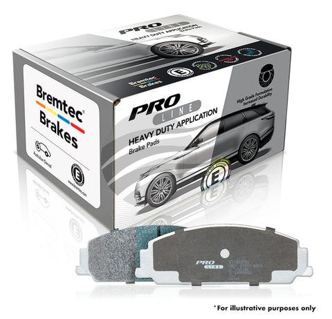 FORD FOCUS XR5 BREMTEC PRO-LINE HD BRAKE PADS - FRONT - Automotive Therapy