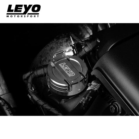 LEYO Billet Oil Cap (Black) - Automotive Therapy