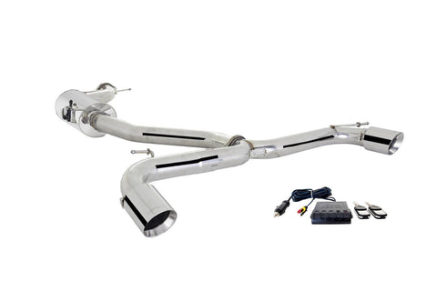 Xforce MK7 GTI STAINLESS STEEL 3″ CATBACK EXHAUST SYSTEM WITH VAREX - Automotive Therapy