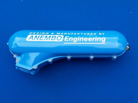 ANEMBO - FOCUS XR5 / RS MK2 CAST INLET PLENUM - LIGHT BLUE.