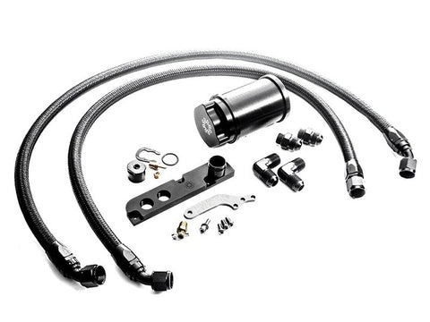 INTEGRATED ENGINEERING RECIRCULATING CATCH CAN KIT - AUDI S3 8V/TTS 8J/VW GOLF GTI MK5/GOLF R MK6 (2.0 TFSI) - Automotive Therapy