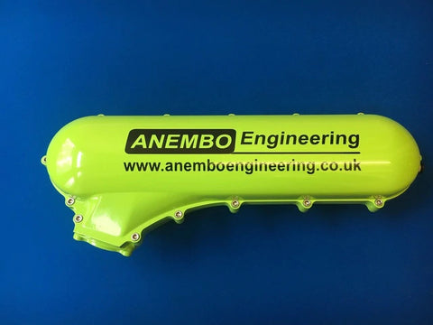 ANEMBO - FOCUS XR5 / RS MK2 CAST INLET PLENUM - GREEN.