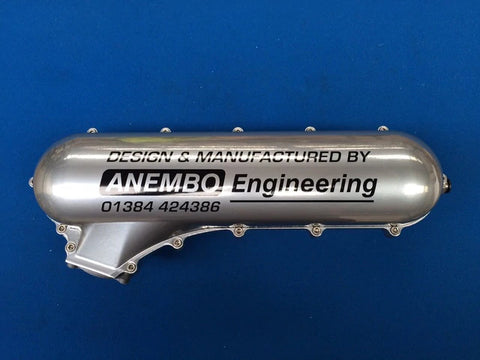 ANEMBO - FOCUS XR5 / RS MK2 CAST INLET PLENUM - SILVER - Automotive Therapy