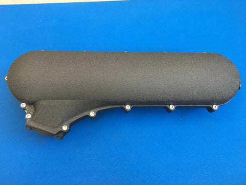 ANEMBO - FOCUS XR5 / RS MK2 CAST INLET PLENUM - CRACKLE BLACK - Automotive Therapy