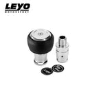 LEYO Black Nappa Manual Shift Knob - Automotive Therapy