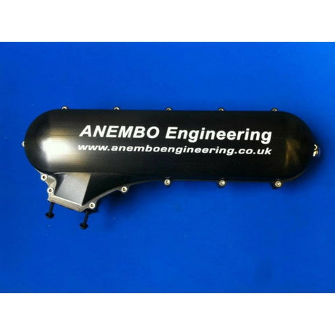 ANEMBO - FOCUS XR5 / RS MK2 INLET PLENUM - BILLET ANODISED BLACK.