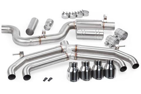 APR GOLF MK7R CATBACK EXHAUST SYSTEM (VALVELESS) - Automotive Therapy