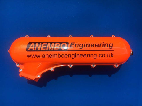 ANEMBO - FOCUS XR5 / RS MK2 CAST INLET PLENUM - CANDY ORANGE - Automotive Therapy