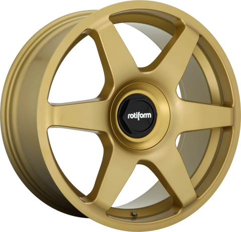 ROTIFORM R118 SIX MATTE GOLD - Automotive Therapy