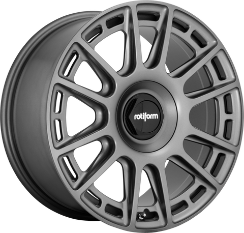 ROTIFORM R158 OZR MATTE ANTHRACITE - Automotive Therapy