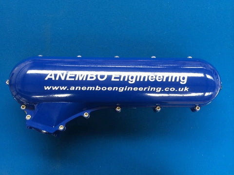 ANEMBO - FOCUS XR5 / RS MK2 CAST INLET PLENUM - BLUE.