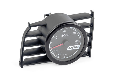 APR MK7 MECHANICAL BOOST GAUGE SYSTEM (RED) - Automotive Therapy