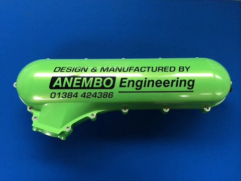 ANEMBO - FOCUS XR5 / RS MK2 CAST INLET PLENUM - GREEN UG.