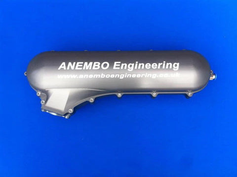 ANEMBO - FOCUS XR5 / RS MK2 CAST INLET PLENUM - ANTHRACITE GREY - Automotive Therapy