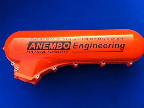 ANEMBO - FOCUS XR5 / RS MK2 CAST INLET PLENUM - ORANGE.