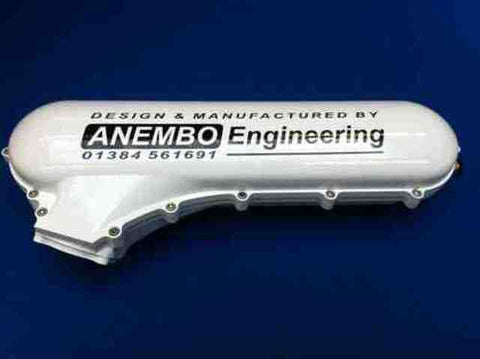 ANEMBO - FOCUS XR5 / RS MK2 CAST INLET PLENUM - WHITE - Automotive Therapy