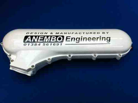 ANEMBO - FOCUS XR5 / RS MK2 CAST INLET PLENUM - FROZEN WHITE - Automotive Therapy
