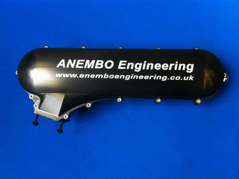 ANEMBO - FOCUS XR5 / RS MK2 CAST INLET PLENUM - SATIN BLACK.