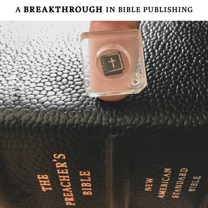 Introducing The (Extremely) Portable Preacher's Bible!