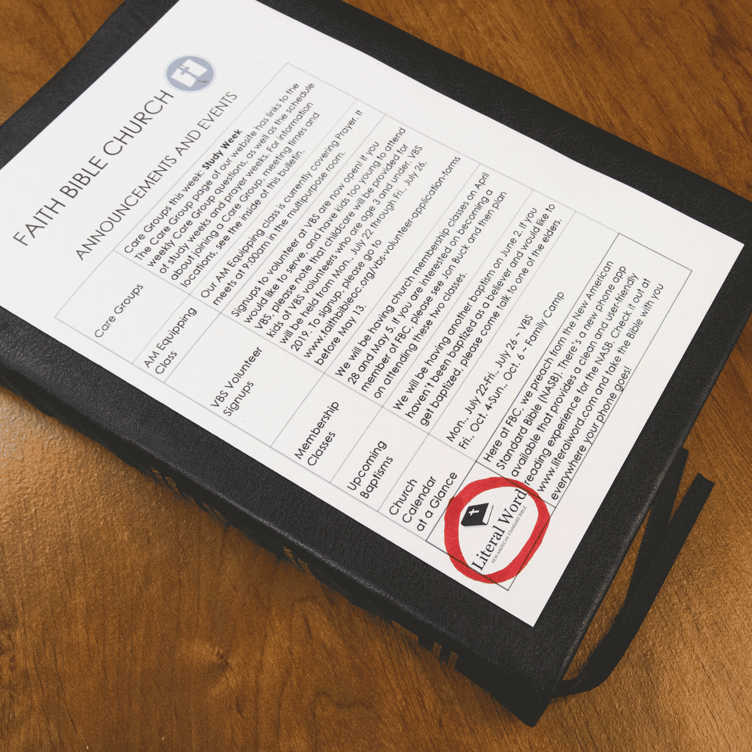 Literal Word's New NASB App Is A Hit!