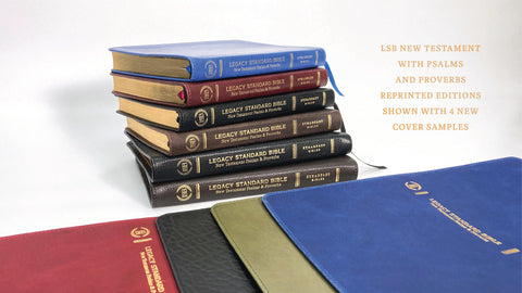 New Testament, Psalms and Proverbs