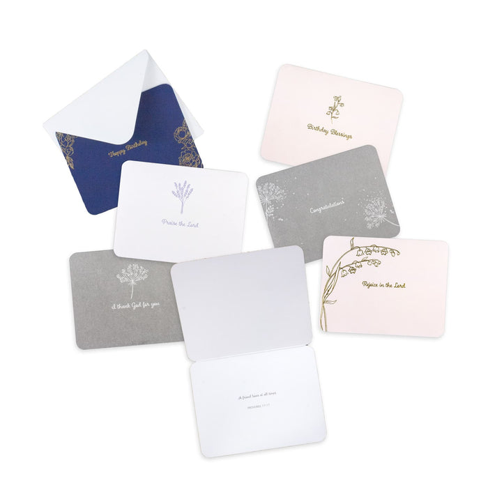 Assorted All Occasion Cards with Scripture, 2 Box Set