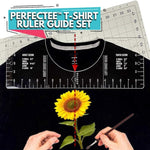 PerfecTEE™ T-Shirt Ruler Guide Set (4pcs)