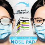 Anti-Fogging Nose Pad For Mask (4 PCS)