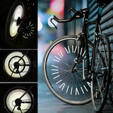 Bicycle Wheel Spoke Reflector (white)