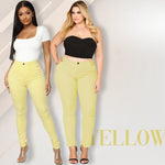 Luxe Stretch High Waist Tummy Booty Slimming Butt Lift Plus-Size Denim Jeans