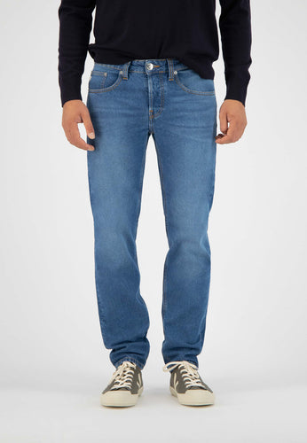MUD Regular Dunn Jeans blue - Fischerins Kleid